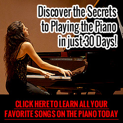 Piano Lessons -    Learn to Play the Piano