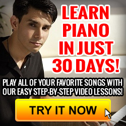 Learn to play piano video lessons tutorial