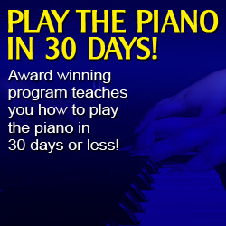 Play The Piano In 30 Days